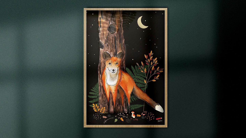 Fox in the night - Juwlius